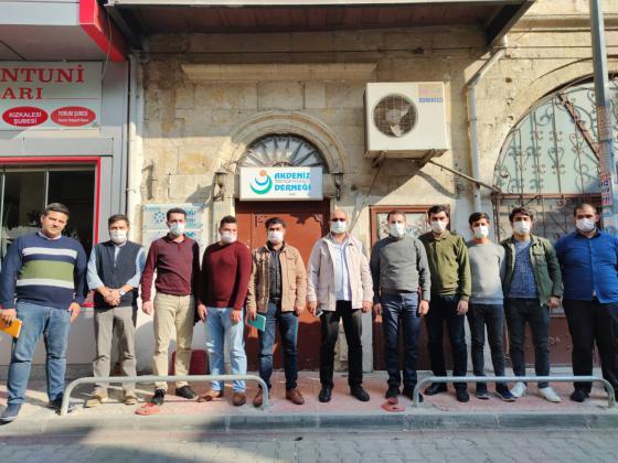 Anadolu Öğrenci Birliği'nden Akdeniz Derneği'ne Ziyaret.