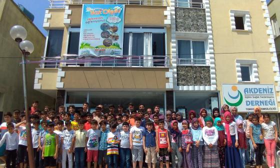 Mersin'de Yaz Okulu Heyecanı